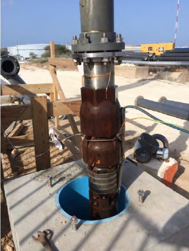 test pump